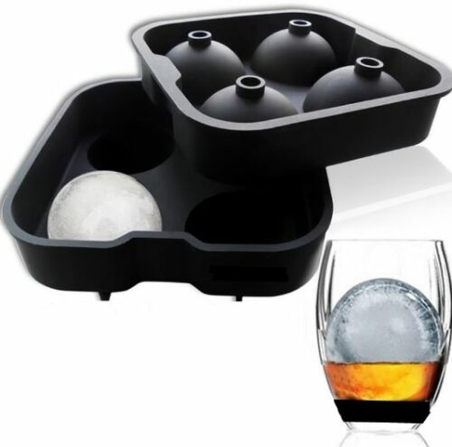 2PCS-Silicone-Ice-Ball-Utensils-Gadgets-Tray-Chocolate-Maker-Mold-Round-Spheres