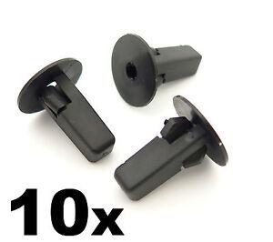 10x-Rueda-Arco-Clips-moldeo-Clip-Trabajo-De-Chapa-Toyota-Lexus-Sujetador-Ojal-se-ajusta