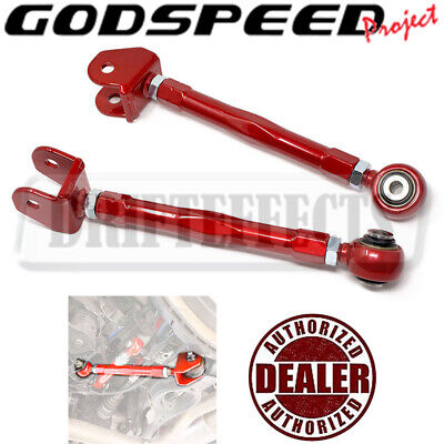 GODSPEED FOR HYUNDAI GENESIS COUPE 10-16 REAR ADJUSTABLE CAMBER ARM SUSPENSION