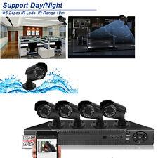 8CH HDMI Surveillance 960H DVR 800TVL Outdoor Waterproof Home CCTV System Camera