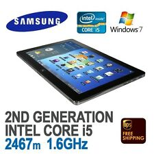 Samsung Series 7 Tablet Black XE700T1A i5 4GB 128GB SSD 11'6in Win 10 Pro
