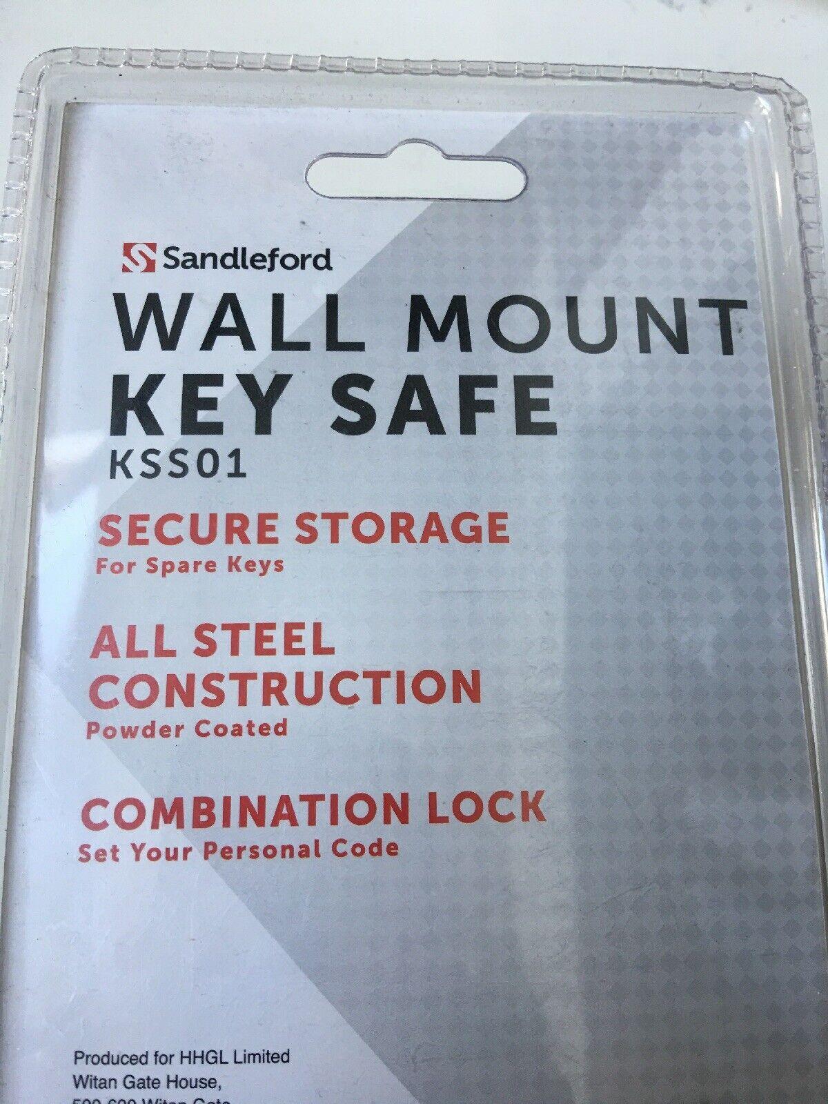 Sandleford Kss01 Key Storage Combo Wall 2x4x6 Black