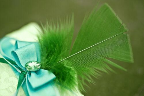 Olive Green Turkey T-Base Wholesale Flat Feathers Bulk Carnival Wedding 1//4 Lb