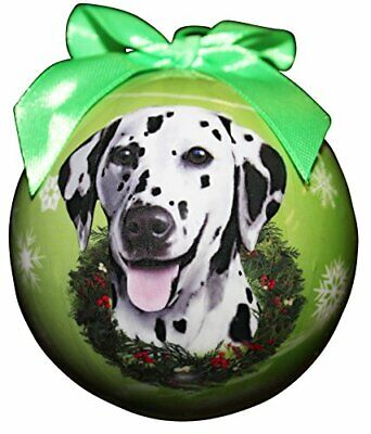 "Cat Supplies Steady ""dalmatian Christmas Ornament"" Shatter Proof Ball Easy To Personalize Other Cat Supplies"