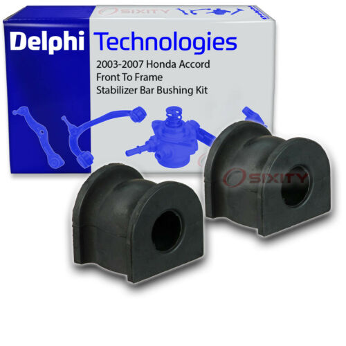 Delphi Front To Frame Stabilizer Bar Bushing Kit for 2003-2007 Honda Accord gz