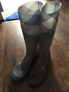 Burberry-High-Boots-UK41-Genuine