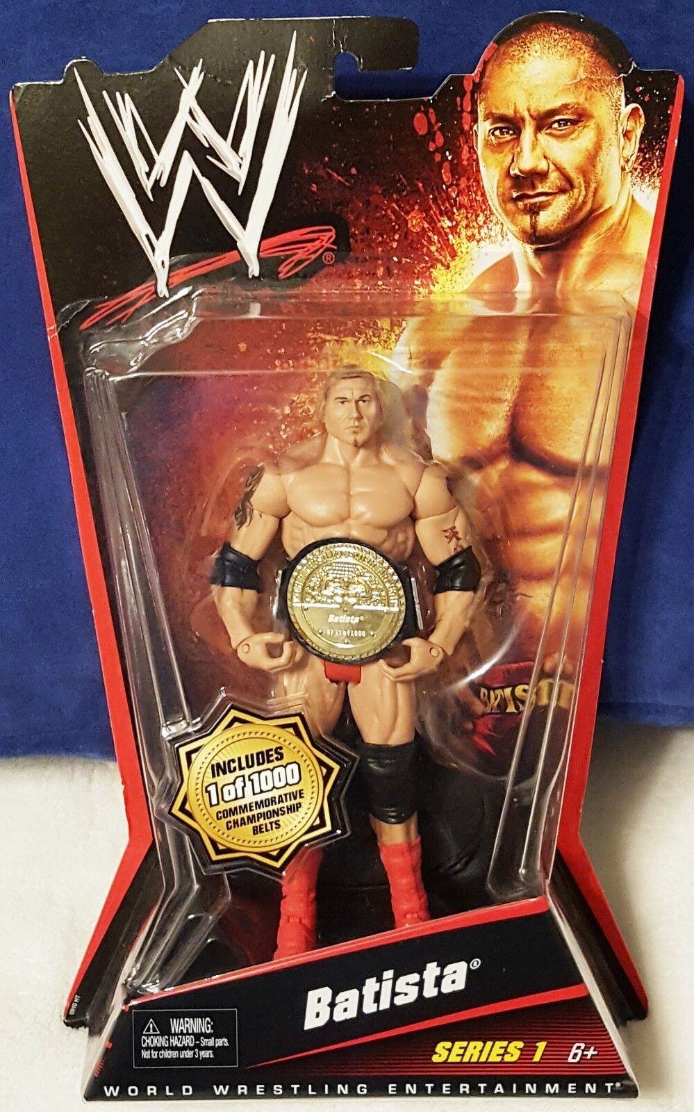 "WWE Dave Bautista ""The Animal"" Basic Series 1 Mattel Limited Edition Figure"