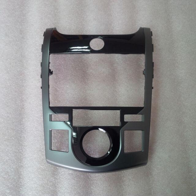 Dash Board GPS Center Fascia Glossy Black For 09-13 Kia Forte Koup : Cerato Koup