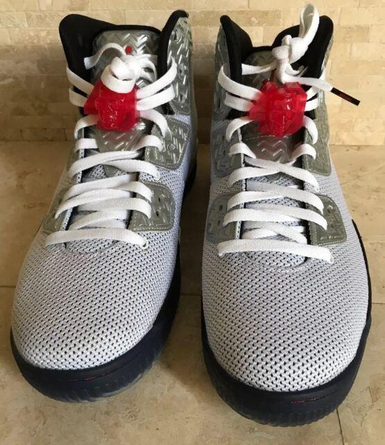 Nike Air Jordan Spike Forty PE WhiteFire Red Black 807541 101 Men's SZ 11.5