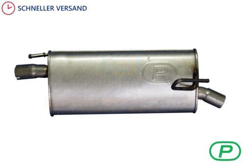 Montagesatz Endschalldämpfer OPEL MERIVA A 1.6 16V Großraumlimousine 03-10