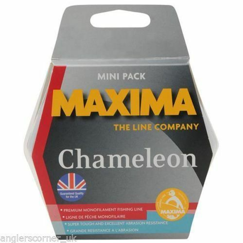 Maxima Chameleon 600m Bulk Spool   All Sizes   Fishing Mono Line