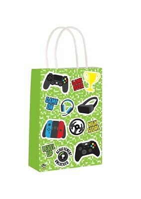 Goodies Toy Favours Bag PAPER PRINTED EMOJI BIRTHDAY PARTY LOOT BAGS Kids