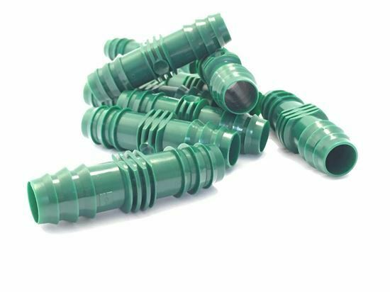 10 x Hozelock 2767 T Tee 3 Way Connector 13mm Micro Irrigation Auto Watering