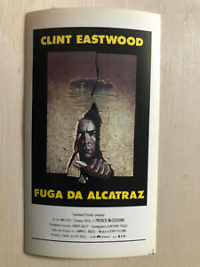 Poster Plakat Aufkleber Sticker 1979 Clint Eastwood Fuga Da Alcatraz Flucht Von Buy One Give One Filme & Dvds