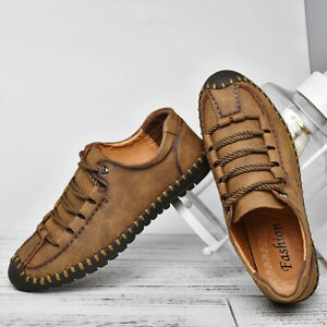 Menico-Men-Hand-Stitching-Anti-collision-Soft-Casual-Leather-Shoes-Large-Size