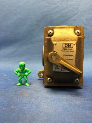 Pauluhn 2102B Marine Brass Switch 15A 277V