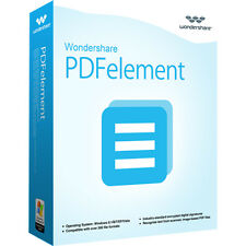 Wondershare PDFelement ohne OCR  WIN V 5.0 !  lifetime ESD Download nur 29,99 !