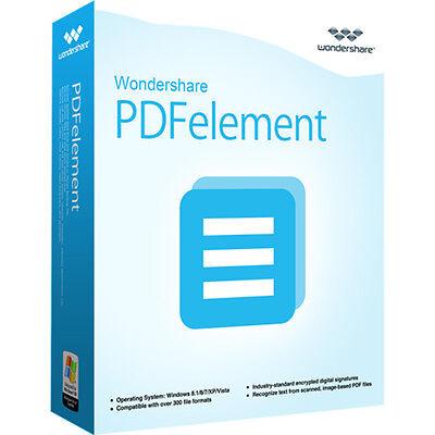 Wondershare Pdfelement Senza Ocr Win 5.0 Lifetime Download Solo 24,99 Anziché 69,95!- Alta Resilienza