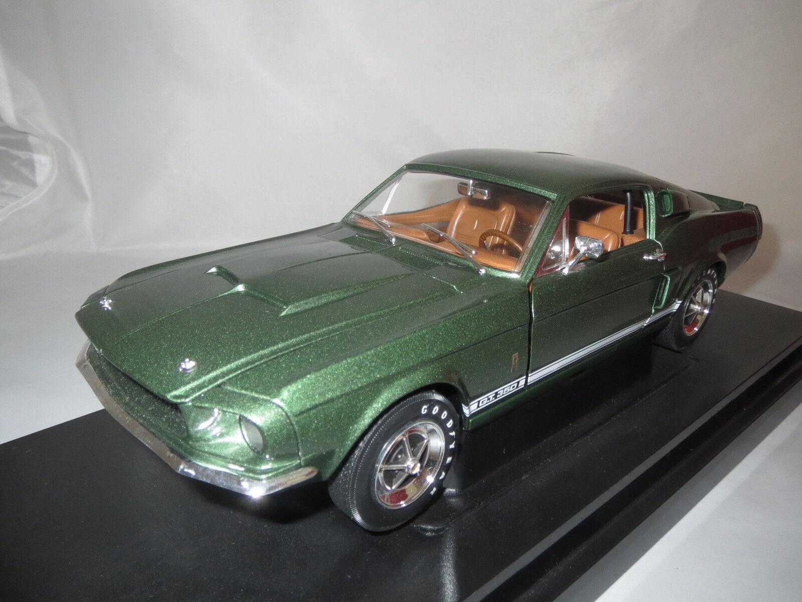 Ertl American Muscle  1967  Shelby  GT-350   grün-metallic   1 18 OVP