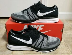8836f67ea7 Nike Flyknit Trainer Oreo Racer Men's Sz 13 NEW AH8396-005 QS Air ...