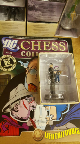 DC CHESS COLLECTION CHOOSE YOUR CHESS PIECE FIGURINE NEW AND BOXED EAGLEMOSS