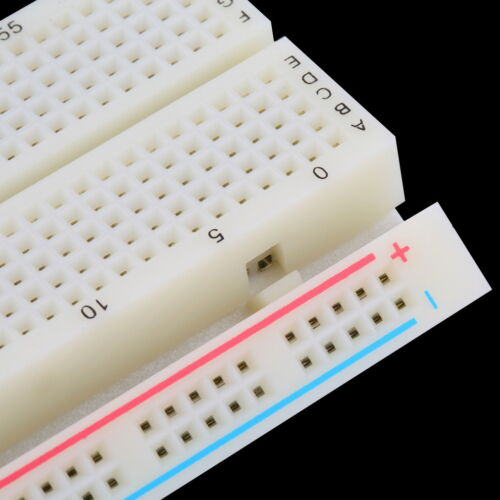 Durable Solderless 830 Point Prototype PCB Breadboard MB102 Test Circuit Useful