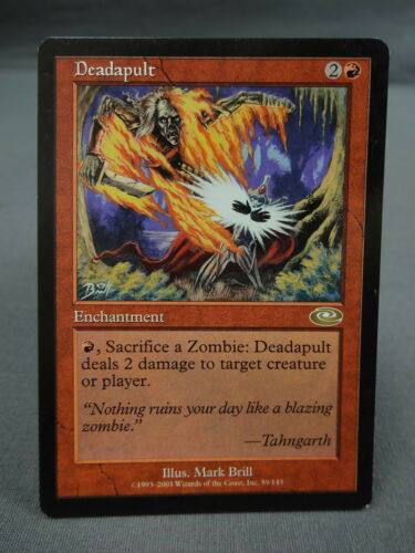 Deadapult MTG Magic the Gathering Card X1 Planeshift EX//NM