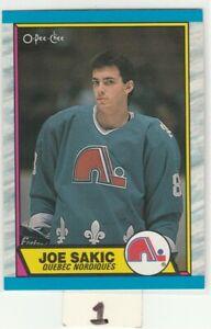 1989-89-90-O-Pee-Chee-113-Joe-Sakic-RC-Rookie-NM-MT