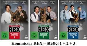 Kommissar-Rex-Die-komplette-Staffel-1-2-3-3-x-3-DVD-Box-NEU-OVP