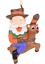 Tree-Buddees-Cowboy-Santa-Riding-Rudolph-Christmas-Ornament-Funny-Xmas-Winter thumbnail 7