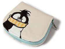 Nici 38975 - Geldbeutel Pinguin Jori Rabbit Plüsch 13x11 Geldbörse Brieftasche