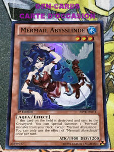 OCCASION Carte Yu Gi Oh SIRENEMURE ABYSSLEED CBLZ-FR034 1ère édition 3