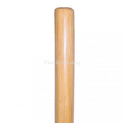 "72/"" Wood Trainging Practical Bo Staff Martial Arts Stick 6 Feet Natural Hardwood"