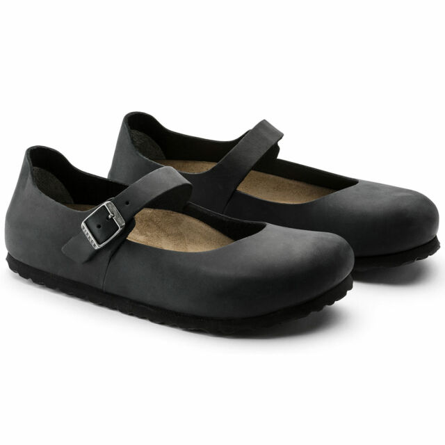 BIRKENSTOCK SHOES MANTOVA NERO BLACK BALLERINE ORIGINALI SCARPE DONNA  RAGAZZA 3e9d4168d4f