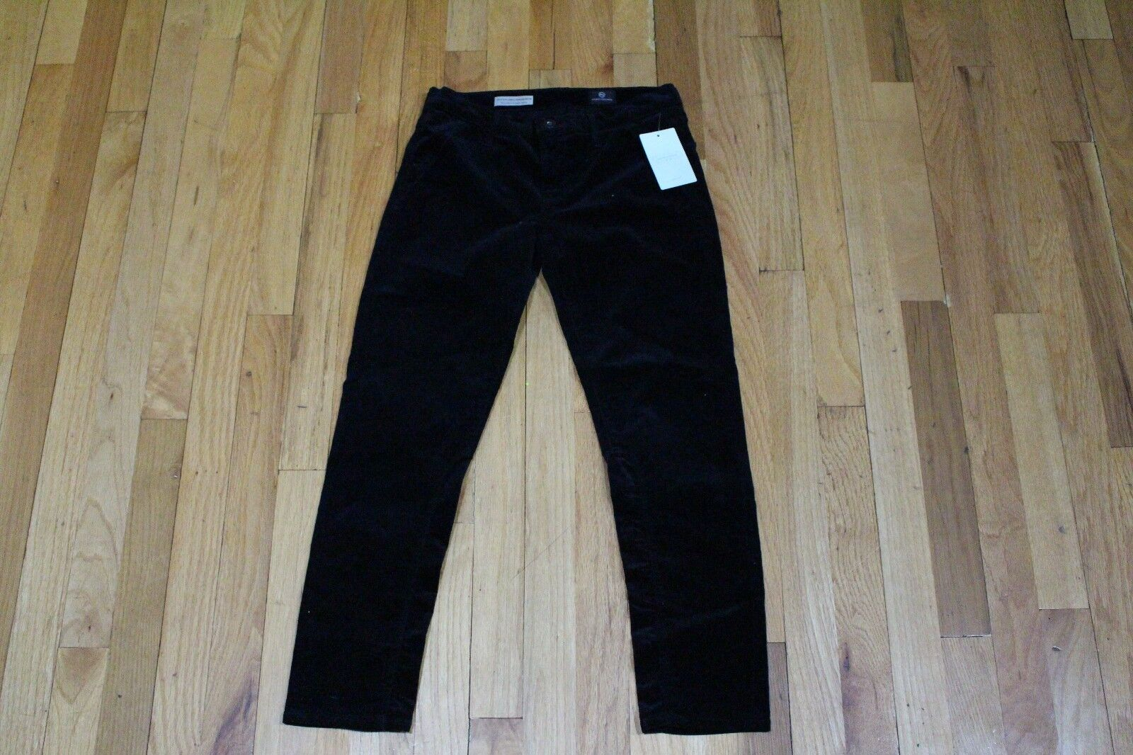 ADRIANO goldSCHMIED STEVIE ANKLE JODHPUR CORDS JEANS SIZE 26P NEW WITH TAGS