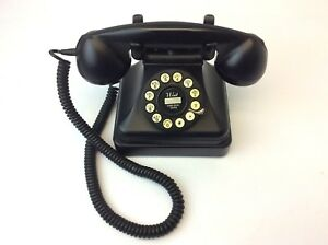 MagiDeal Vintage Antique 1950's Phone Retro Rotary Dial Telephone 7111-30