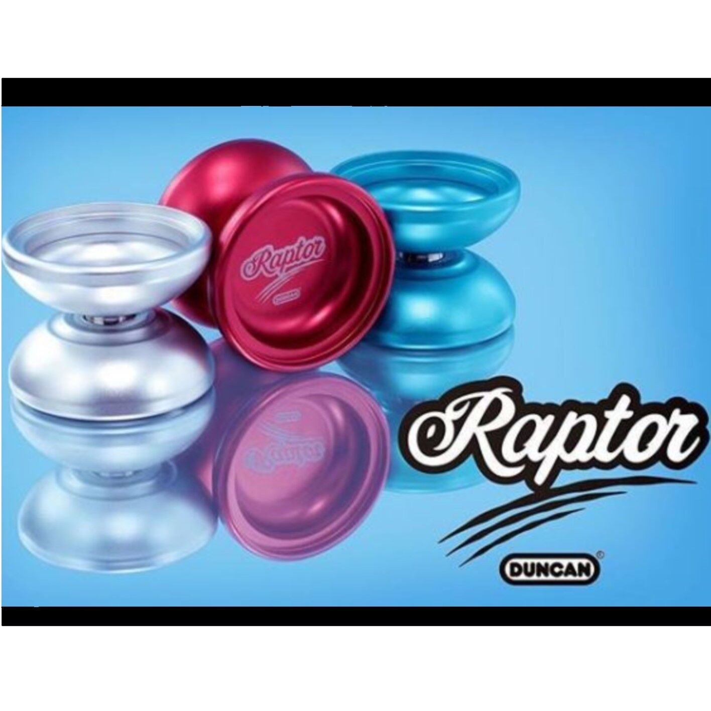 Duncan Raptor Yo-Yo with Removable Side Side Side Caps and Candy Dice Counterweight dce6a8
