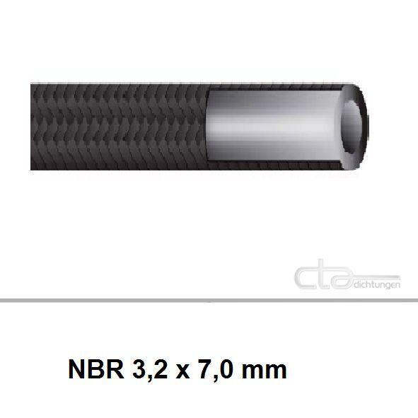 KRAFTSTOFFSCHLAUCH /Ø 5,0 x 10,0mm BENZINSCHLAUCH DIESELSCHLAUCH