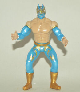 SIN CARA  Wrestler 7in Action Figure Mexican Toys LUCHA LIBRE MEXICANA