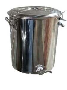 Beekeeping-Honey-Tank-75-KG-Stainless-Steel-Choice-of-Honey-Gate-Honey-Bucket