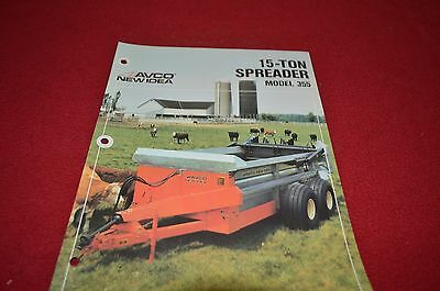 New Idea 212 213 214 244 245 Manure Spreader Dealers Brochure DCPA