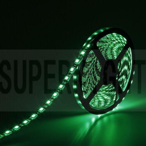 5050 SMD LED Light Strip SUPERNIGHT® Black PCB 16.4ft//5M 300LEDs//150LEDs 3528
