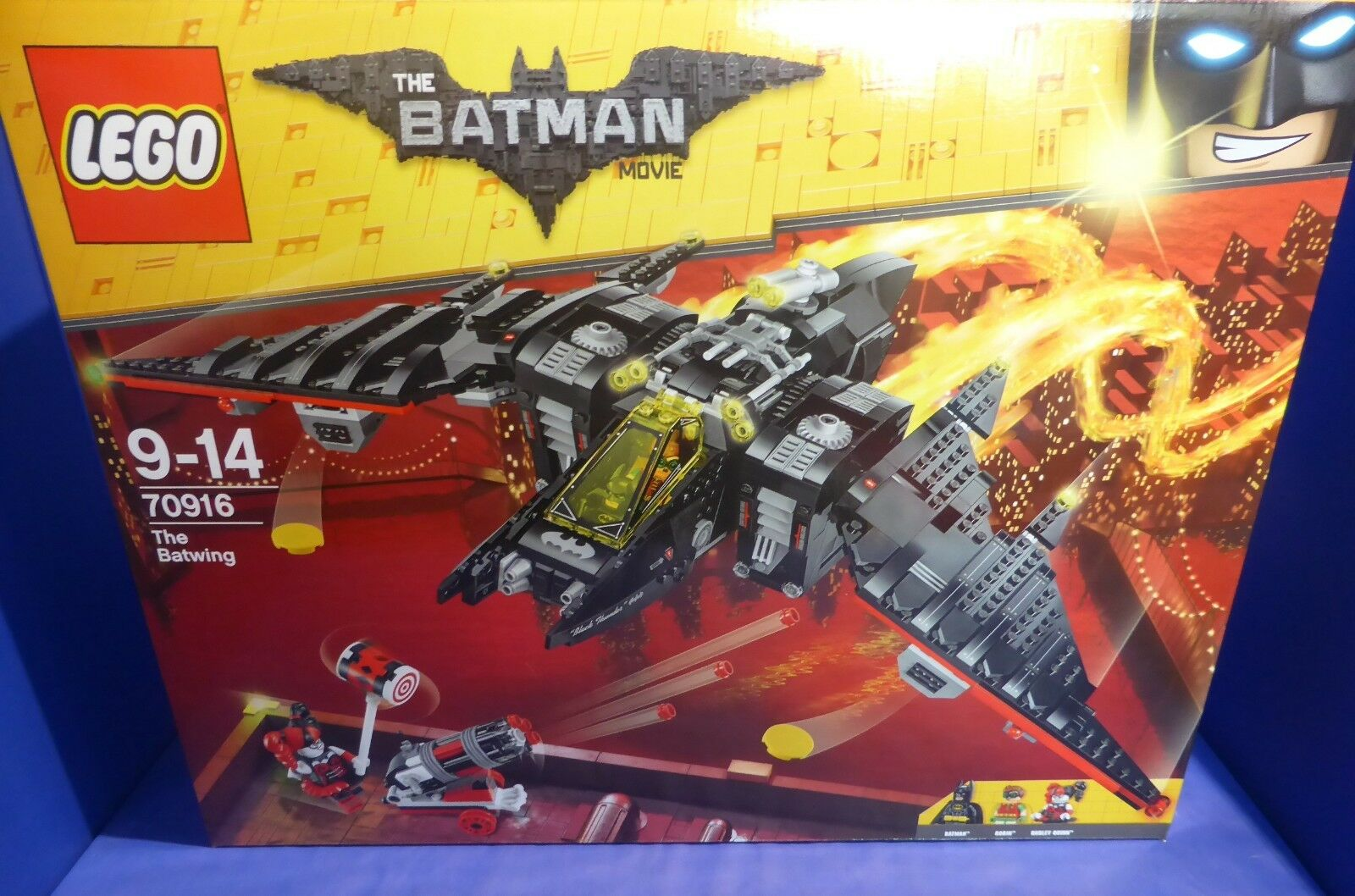 Lego Batman 70916 Batwing m. Batman Robin Harley Quinn Neu OVP
