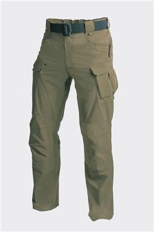 Helikon Tex Senderismo Ocio Al Aire Libre OTP pantalones verde adaptable Señor Medio