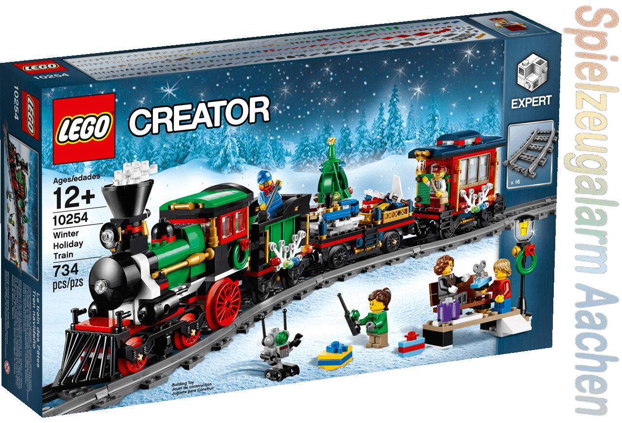 LEGO 10254 EXPERT FESTLICHER WEIHNACHTSZUG Christmas Train N9/17