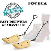 Boot Stretcher Women Wood Shaper Western Cowboy Adjustable Bunions Corns