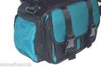 Vantage Deluxe Photo Video Camcorder Camera Case Bag Weather Resistant Green