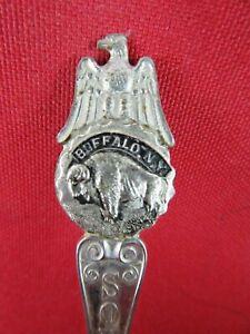 Lot 10 of 35 - Vintage Collector Spoons Buffalo & Eagle Souvenir New York