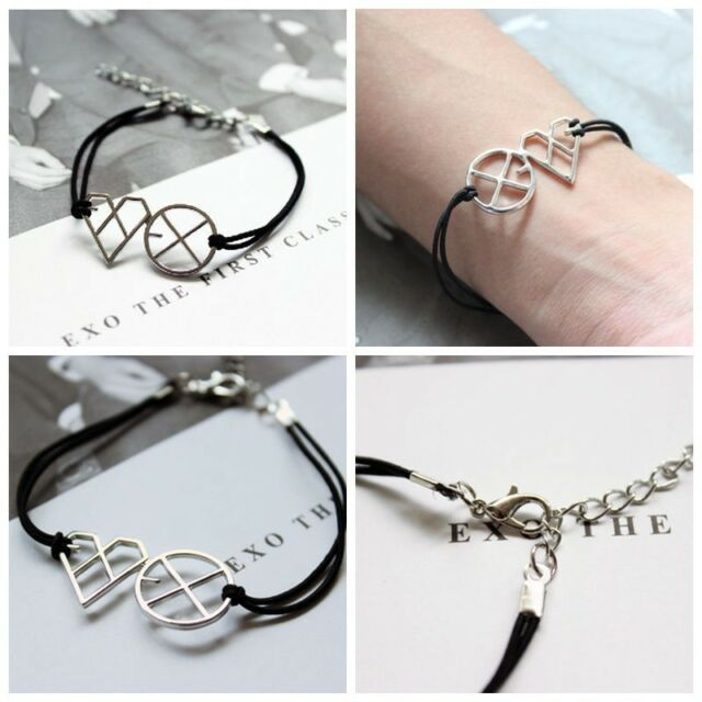 EXO-M EXO-K XOXO FIRST YEAR WOLF ALLOY KPOP BRACELET Kris luhan NEW
