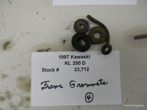 1997 Kawasaki KL 250D KL 250 Frame Grommets